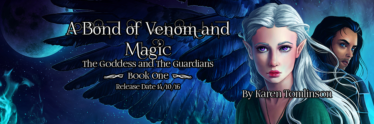 Review: A Bond of Venom & Magic by Karen Tomlinson