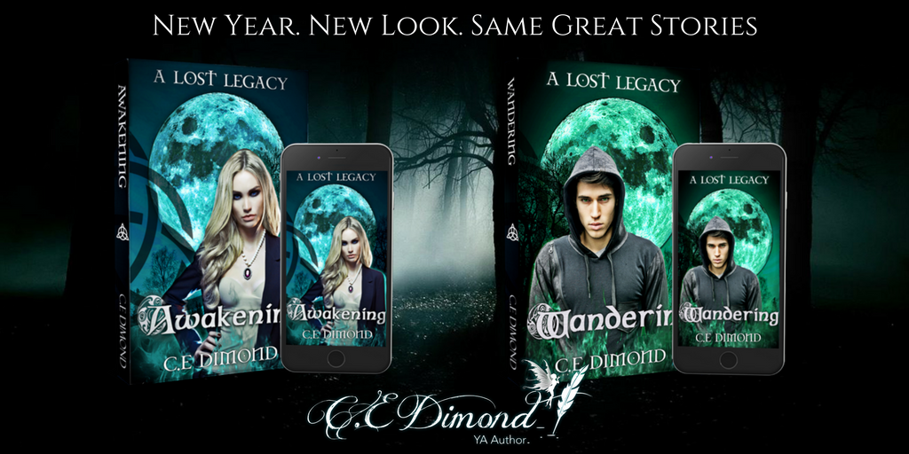 Cover Reveal – Lost Legacy Series
