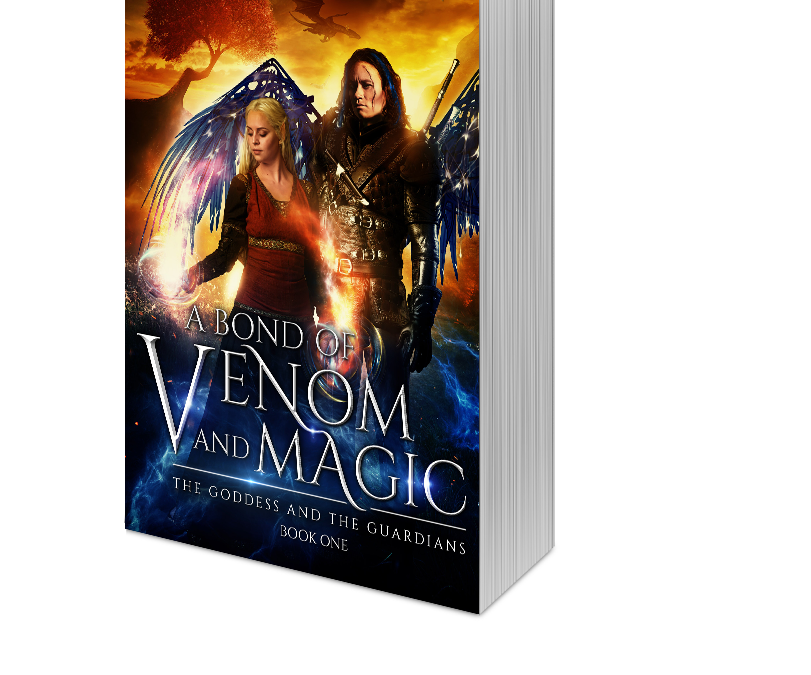 A BOND OF VENOM AND MAGIC-COVER REVEAL & DEAL!