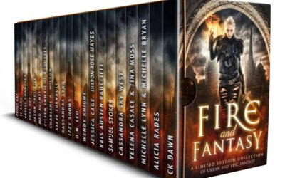 New release this week! Snag the awesome Fire and Fantasy box set!
