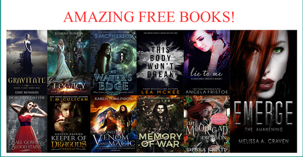 "AMAZING FREE BOOKS! DON""T MISS OUT!"