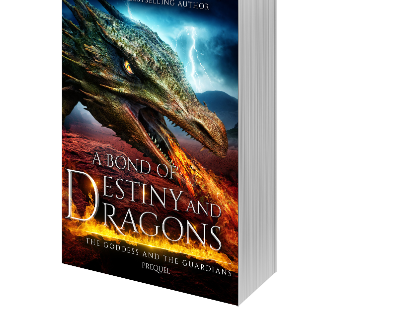 PREORDER: A Bond of Destiny and Dragons! Only 0.99!!