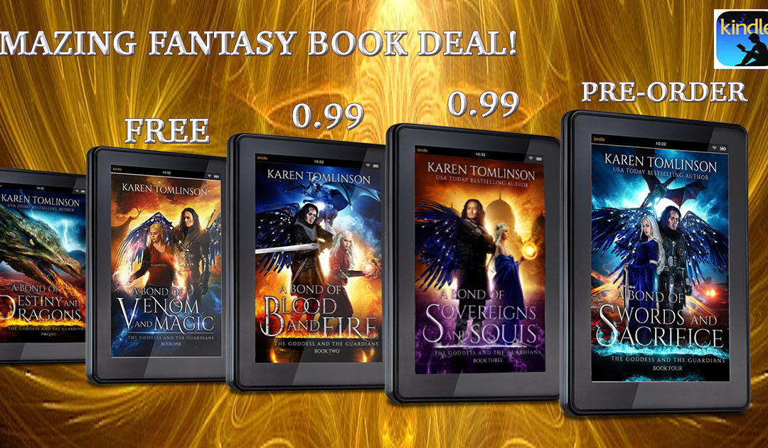 YA Fantasy Book Sale & Countdown to Release!