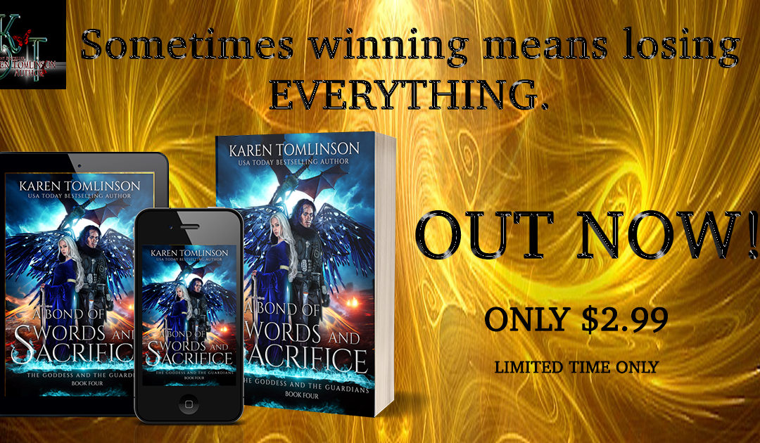 Release Day! A Finale That Will Sweep You Away!