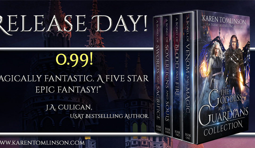 RELEASE DAY! I'm so happy!