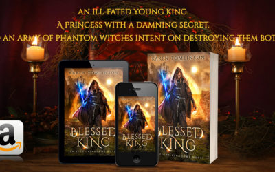 Blessed King Cover Reveal…