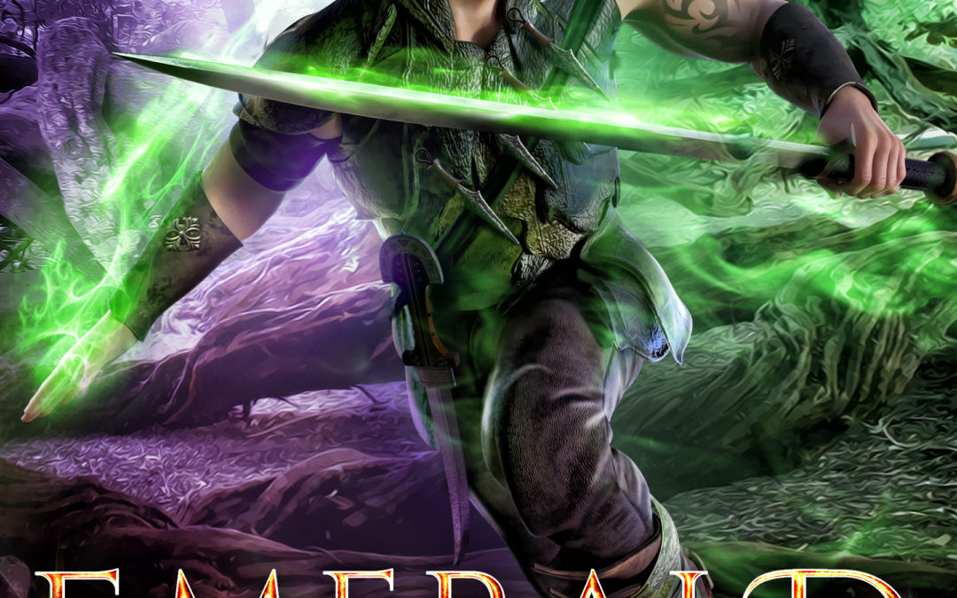 Emerald Warrior cover reveal…